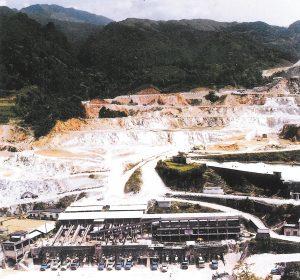 タルク鉱山