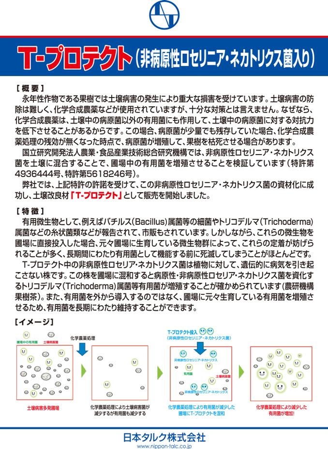 土壌改良材プロテクトシリーズ No.2