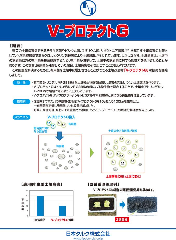 土壌改良材プロテクトシリーズ No.5